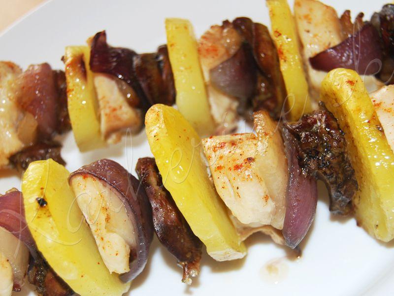 Ražniči - s kuracími pečienkami